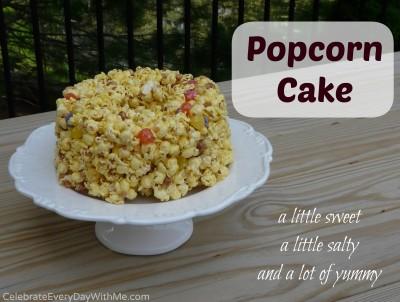 Popcorn Cake 1