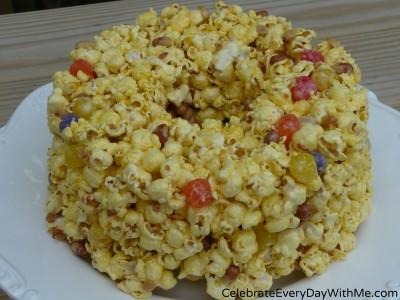 Popcorn Cake 3