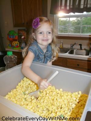 Popcorn Cake 9