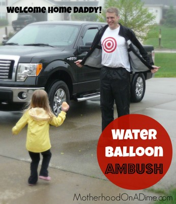 Water Balloon Ambush