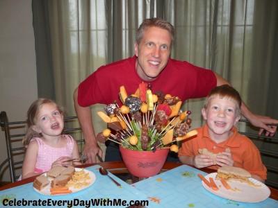 diy fruit arrangement 8