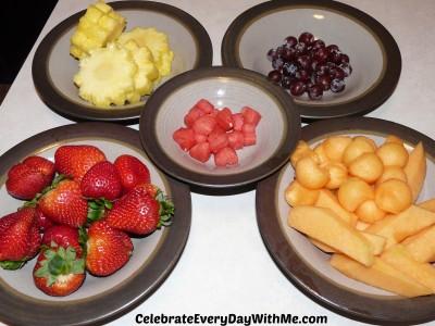 fruit arrangement 1
