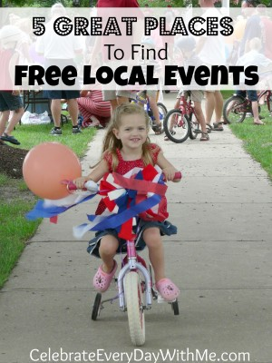 5 great places to find free local events