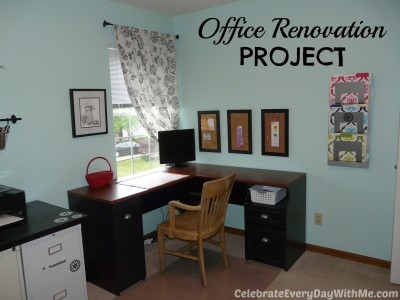 A Little Office Renovation Project | Celebrate Every Day With Me