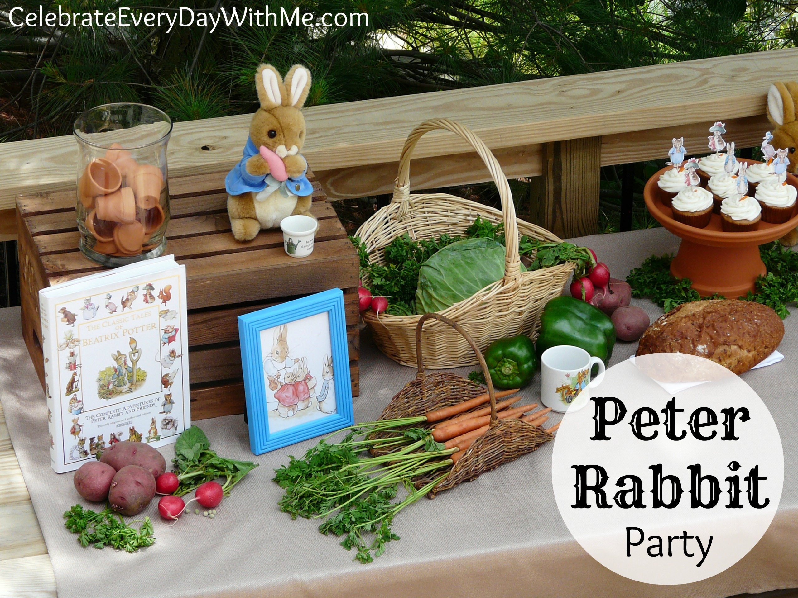 a peter rabbit party part 2 celebrate every day with me