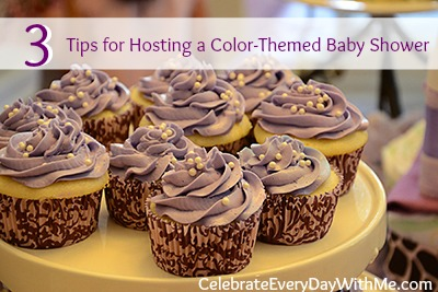 3 Tips for Hosting a Color-Themed Baby Shower