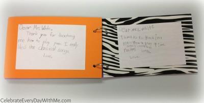 gift card booklet.teacher gift 5