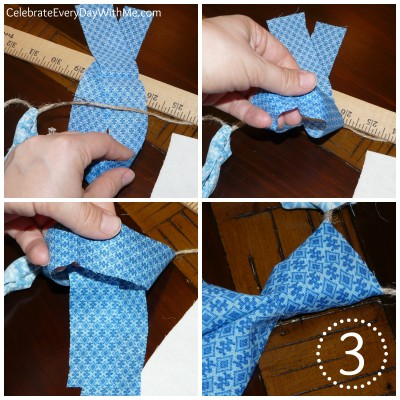 how to make a fabric banner 5