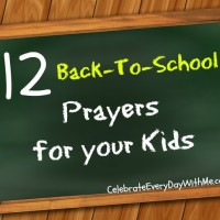 12 Back-to-School Prayers for Your Kids