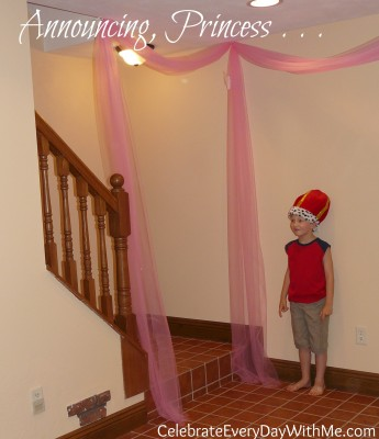 introduction for all princess at disney princess party
