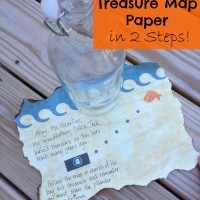 How to Make Treasure Map Paper in 2 Steps!