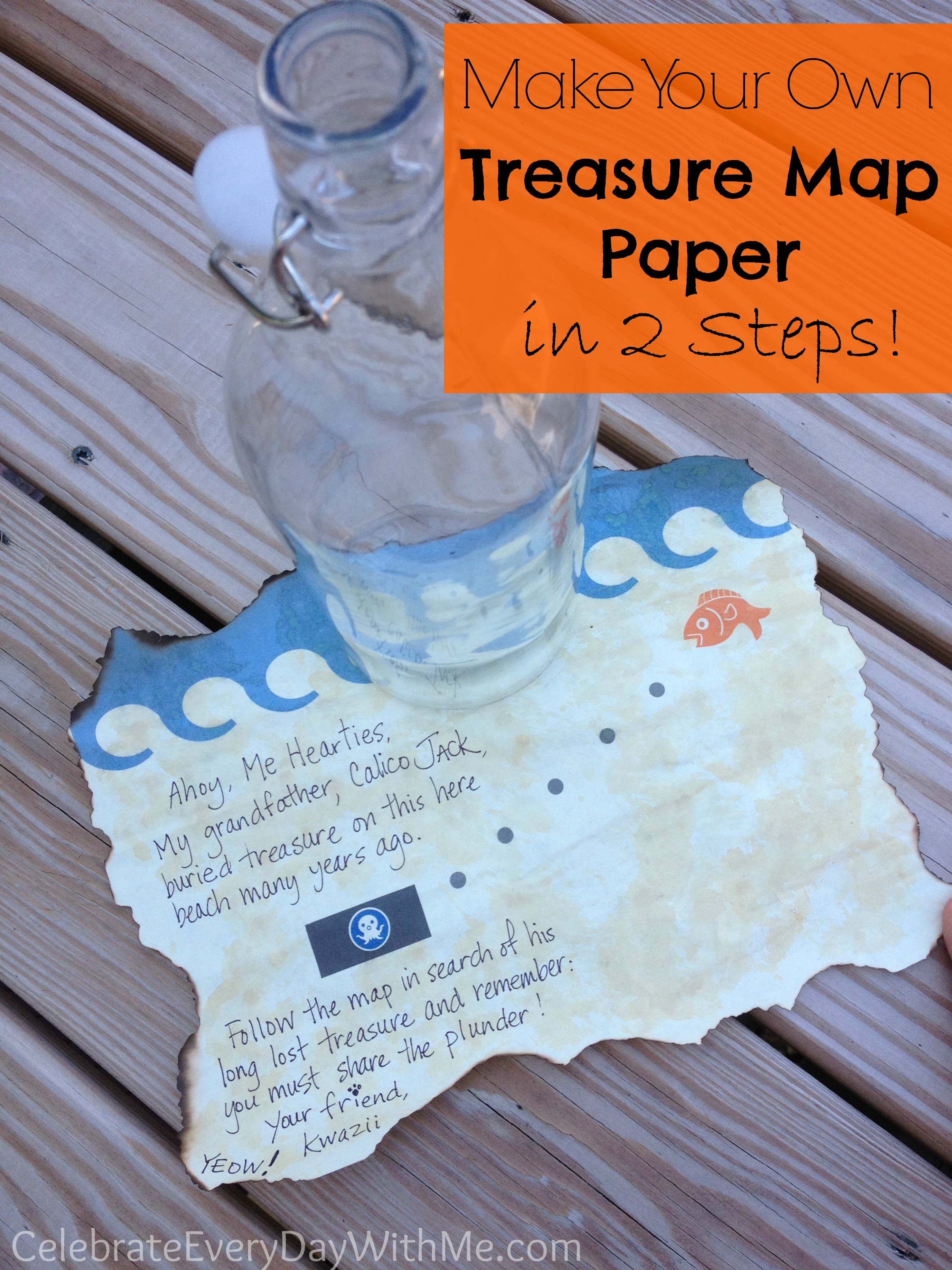Watch How to Make a Treasure Map video
