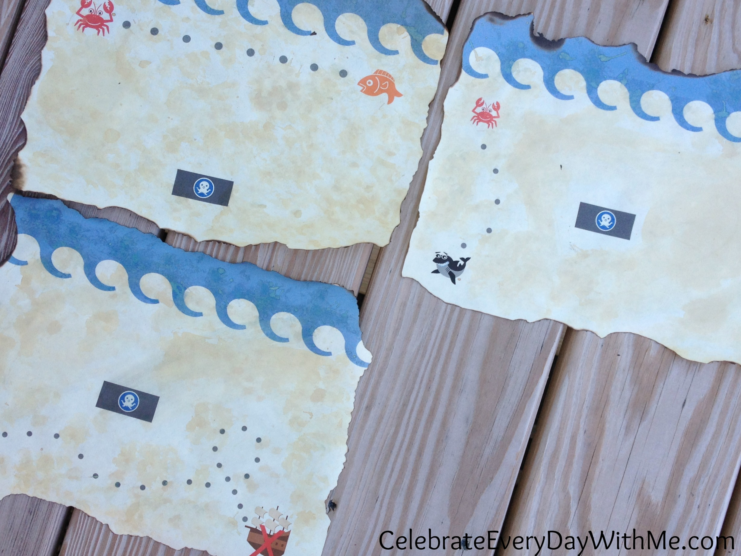 how to make treasure map paper in 2 steps celebrate every day with me