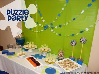 Puzzle Party.CelebrateEveryDayWithMe