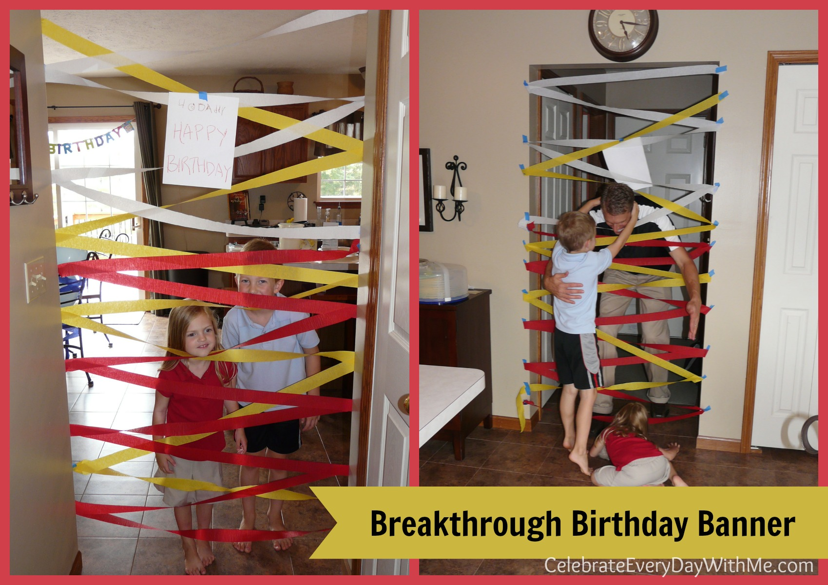 Quick birthday decorations celebrate every day with me for Decor quick