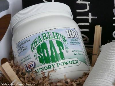 charlie's soap gift basket