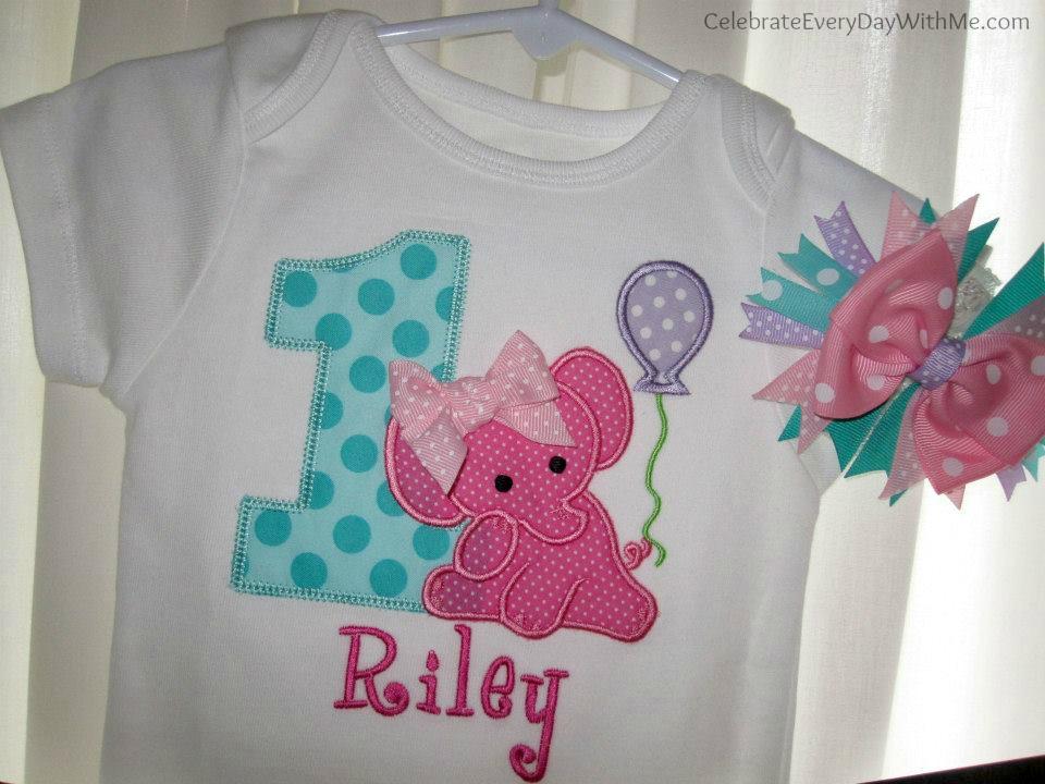 elephant party clothes