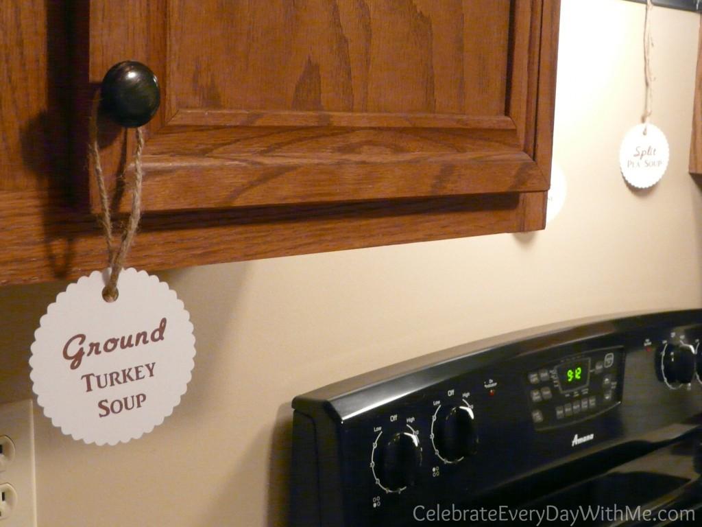 soup party labels