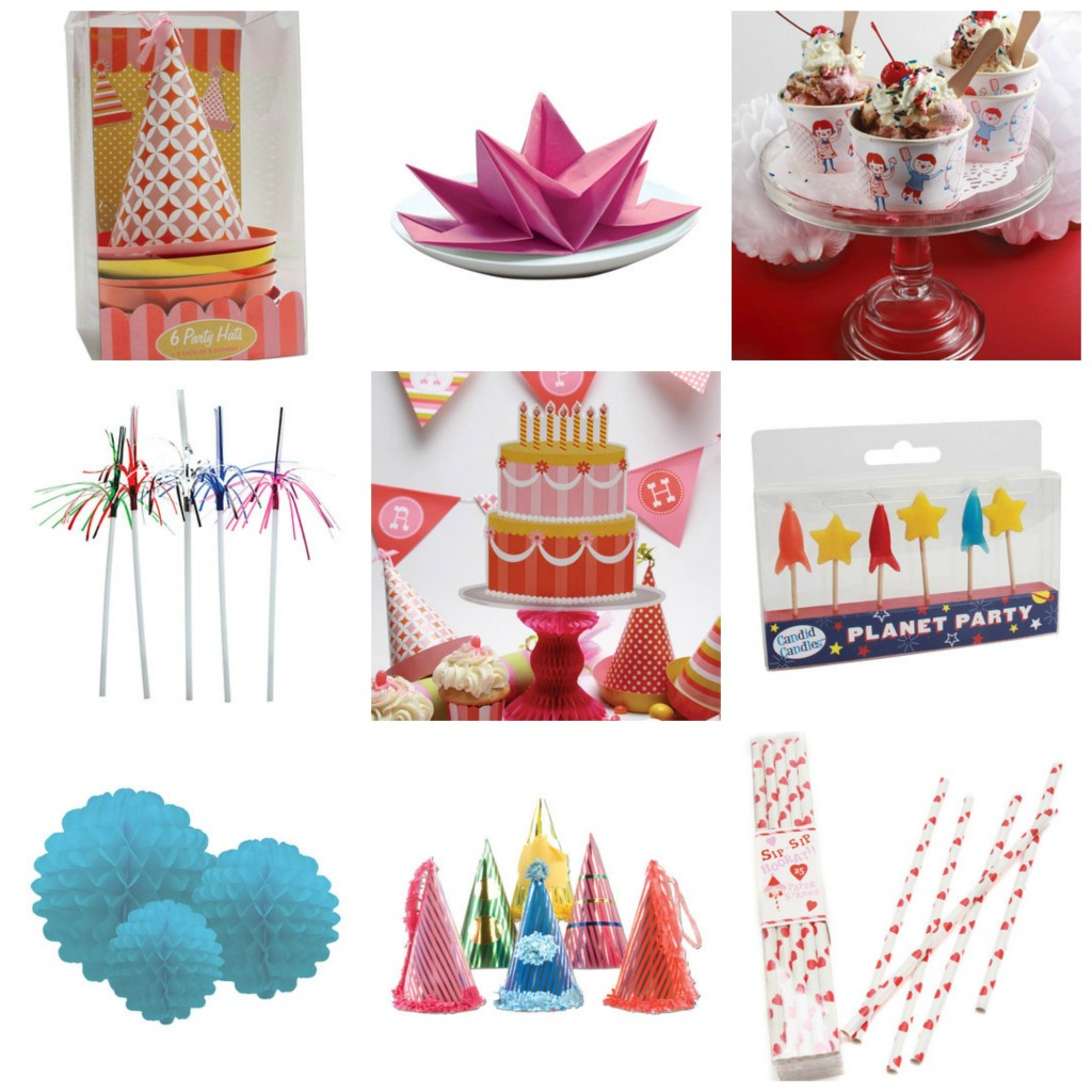 zulily party collection