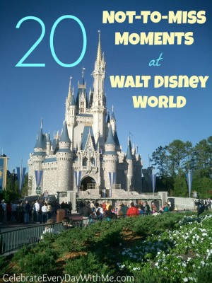 20 Not to Miss Moments at Walt Disney World-2