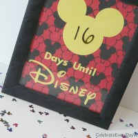 """""""How many more days?""""  Making a Disney Vacation Countdown"""
