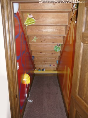 under the stairs kids clubhouse