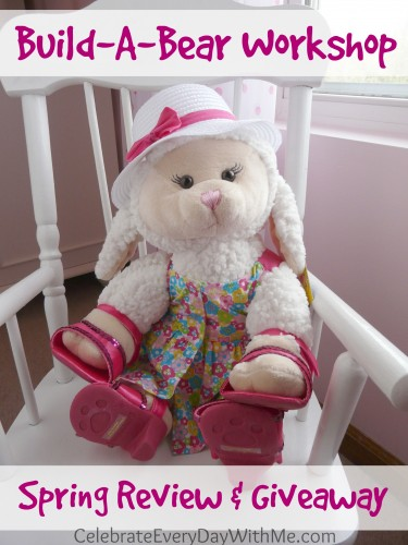 Build-A-Bear Workshop Spring Review & Giveaway