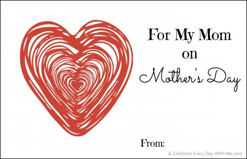 Mother's Day Gift..Fill-in Booklet