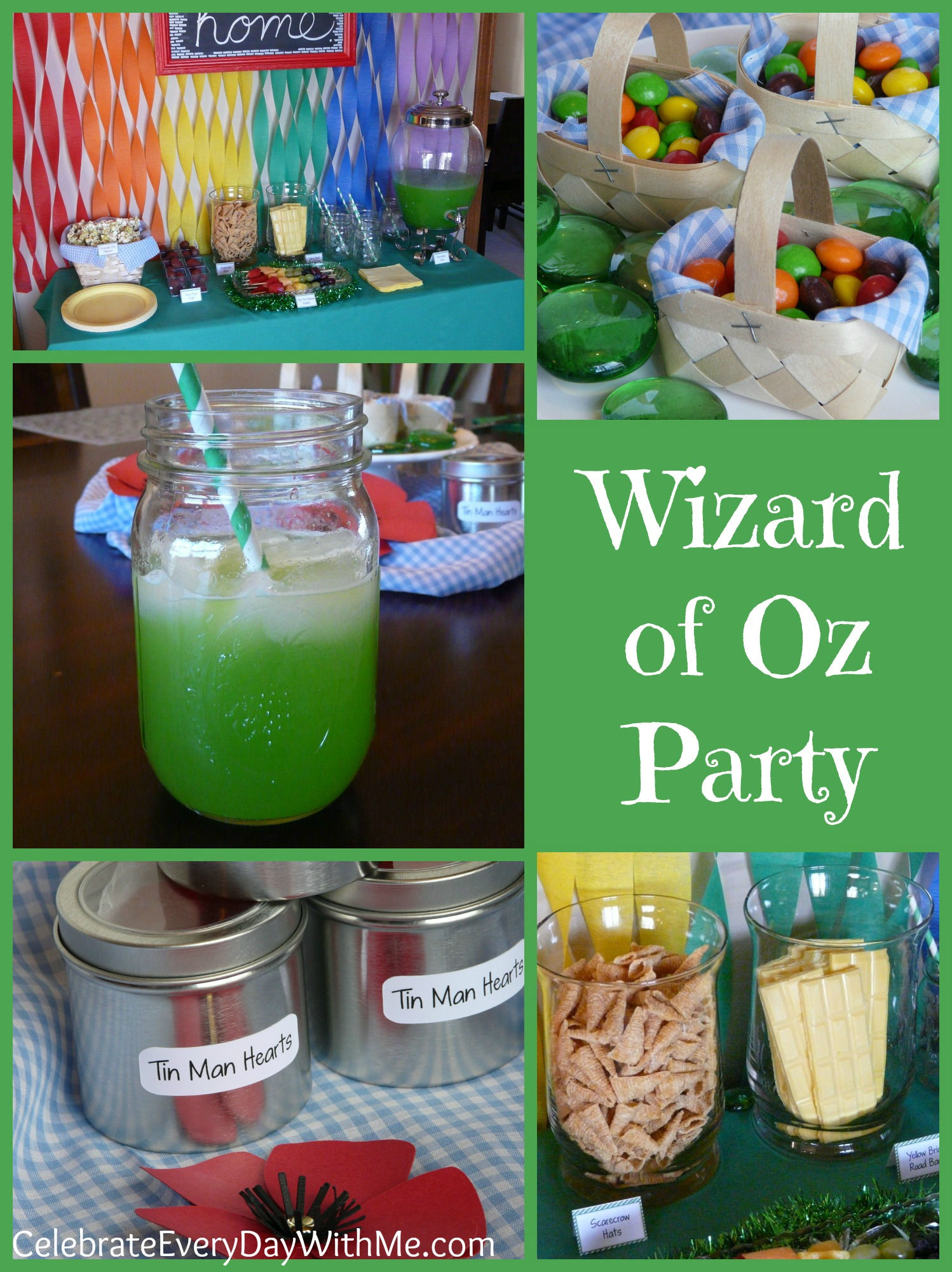 Wizard of Oz Party & Family Movie Night