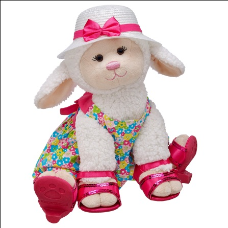 Soft And Sweet Lamb Build A Bear