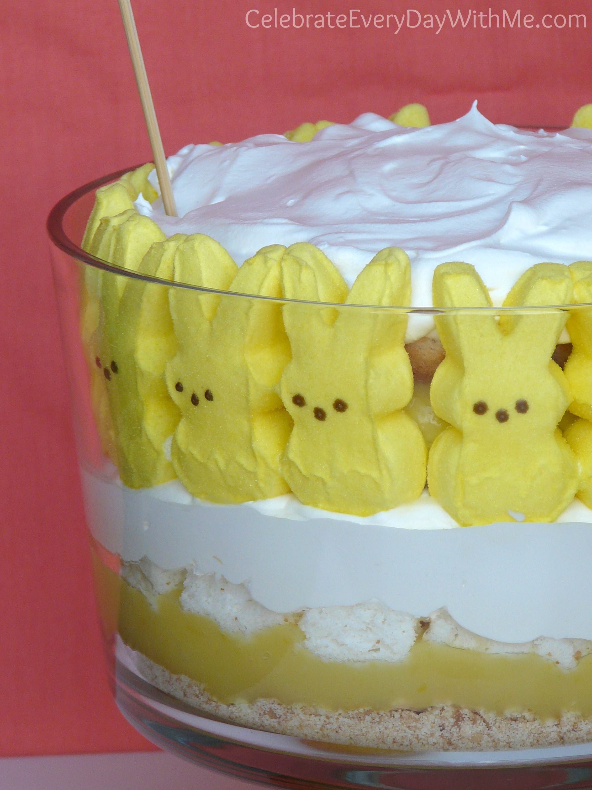 Lemon Trifle With Angel Food Cake