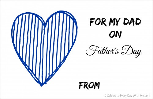 Father's Day..Fill-in Booklet