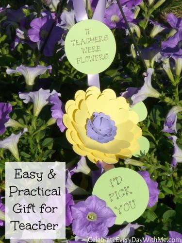easy & practical gift for teacher