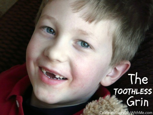 the toothless grin poem