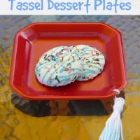 Graduation Party Tassel Dessert Plates