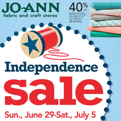 Joann Independence Day Sale