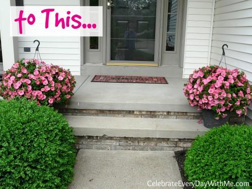 diy gardening hack for gorgeous flower pots 2