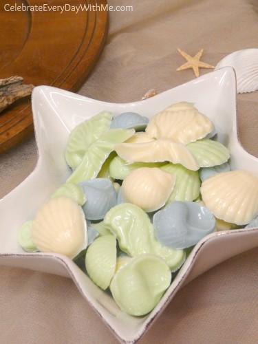 Chocolate Shells, Fish & Sea Horses from Chocoley.com