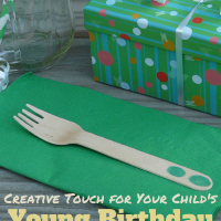 "Creative ""Touch"" for Your Child's Young Birthday Party"