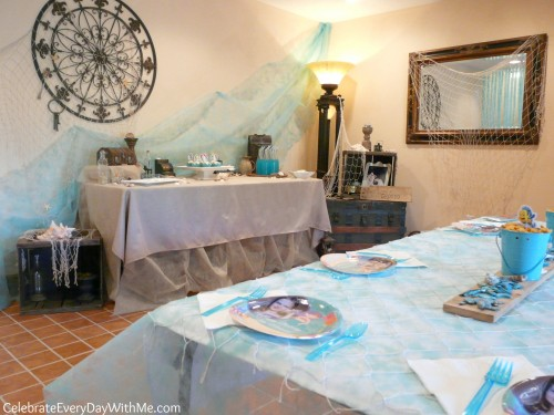 lots of ideas for a Little Mermaid Party and creating Ariel's Grotto