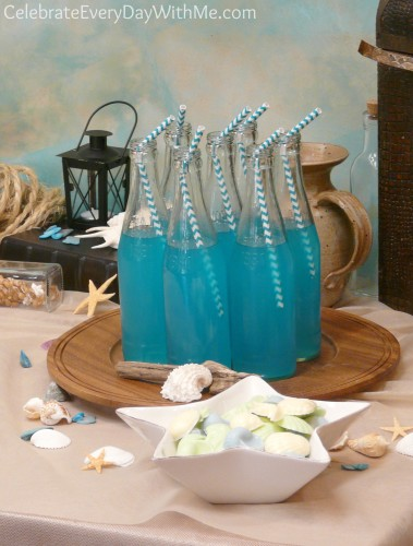 turquoise love for a little mermaid party