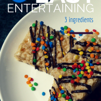Easy Entertaining with this Semi-Homemade Treat