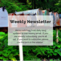 We're Switching to a Weekly Newsletter