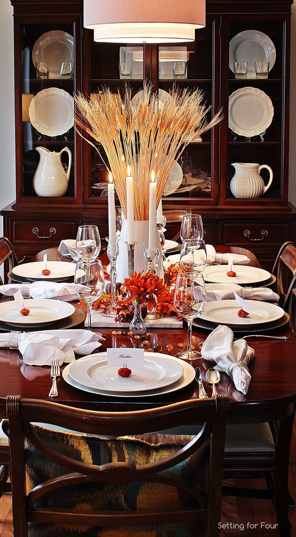 Ideas For Your Thanksgiving Table Celebrate Every Day