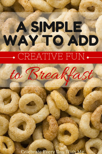 A Simple Way to Add Creative Fun to Breakfast