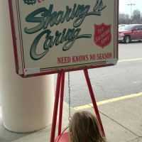 The Salvation Army Red Kettle:  A Simple Way You & Your Kids Can Help Others