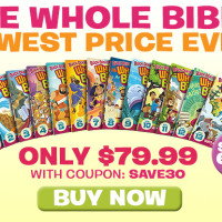 What's In the Bible:  Cyber Monday Lowerest Price Ever