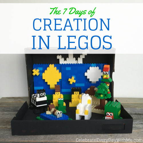 7 days of creation in legos