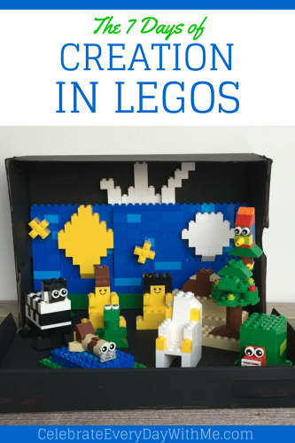 The 7 Days of Creation in Legos