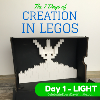 The 7 Days of Creation in Legos {Day 1 – Light}
